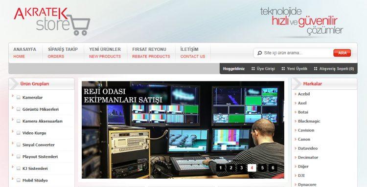 Broadcast Sektöründe Akratek ile Güvenli Online Alışveriş